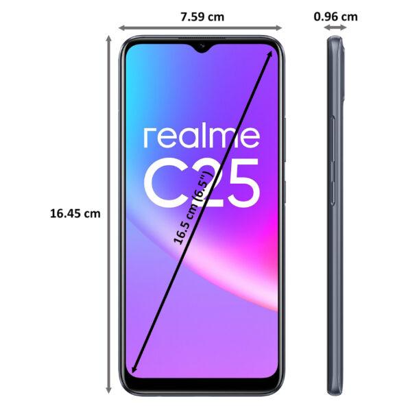 _realme C25S Watery Grey